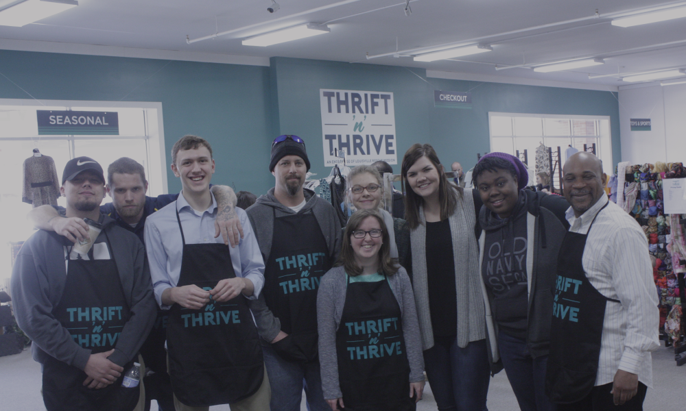 Social Enterprise Impacting Homelessness Thrift Store Thrift 'N' Thrive Love Thy Neighborhood